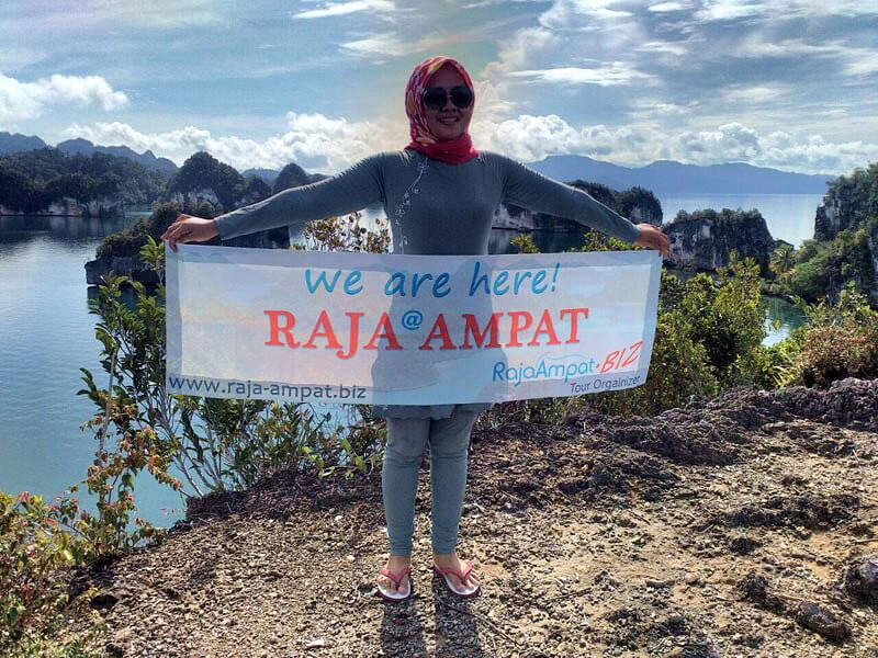 PRIVATE TOUR RAJA AMPAT