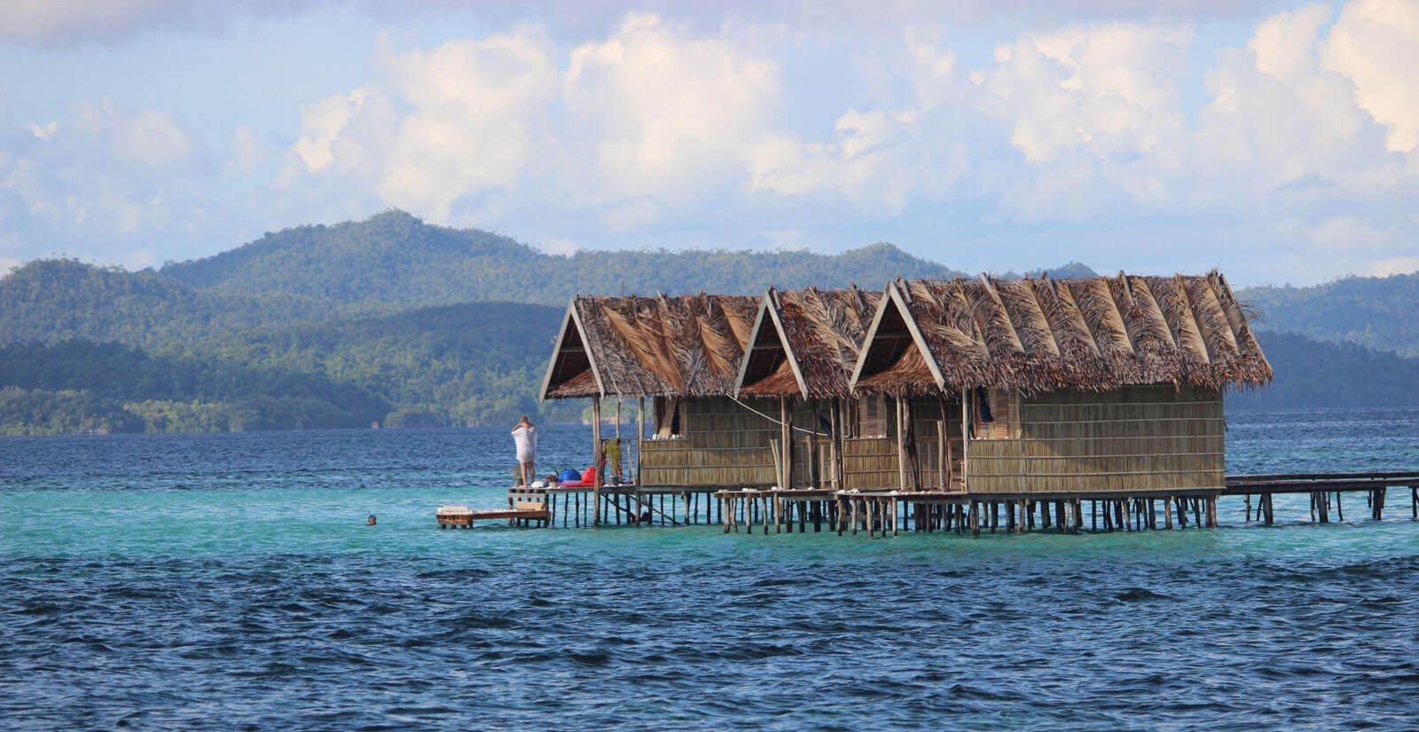 Laut di Raja Ampat (Papua), ada Moana gak ya